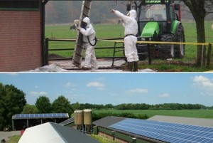 Subsidieregeling asbest eraf, zonnepanelen erop